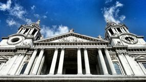 St Paul Church i London Royaltyfri Fotografi