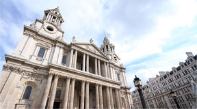 St. Paul Church, London, United Kingdom Stock Image