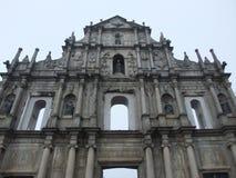 St.Paul Church in Macau Stock Image
