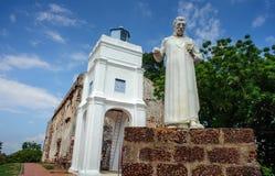 St Paul church, Malacca heritage city royalty free stock photo