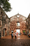 St.paul church, malacca, malaysia, Stock Photo