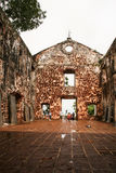 St.paul church, malacca, malaysia, Stock Photography