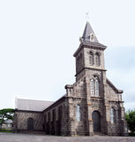St Paul Church, Mauritius stock photography