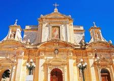 St Paul Church in Rabat Malta. St Paul Church in Rabat, Malta Island Royalty Free Stock Photos