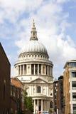 St Paul Kathedraal, Londen, Engeland. Royalty-vrije Stock Afbeeldingen