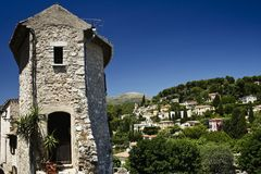 St paul de vence france Royalty Free Stock Photo