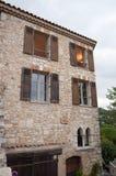 St Paul de Vence, Frankrike Arkivbild
