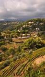 St Paul de Vence im Herbst, Taubenschlag d'Azur, Frankreich Lizenzfreies Stockfoto