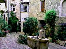 St Paul de Vence Skjul d& x27; Azur France Arkivbilder