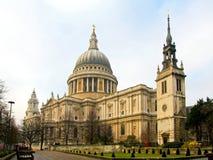 St Paul della cattedrale Fotografie Stock