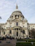 St Paul domkyrka, London Royaltyfri Foto
