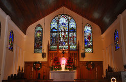St Paul Episkopale Kirche, Key West stockfoto