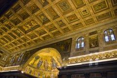 St Paul fuori delle pareti - Roma Fotografia Stock Libera da Diritti