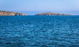 St Paul Island. St Paul's island in the republic of Malta Stock Photos