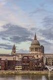 St Paul katedra Obrazy Royalty Free