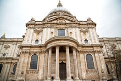 St Paul katedra w Londyn Zdjęcia Stock
