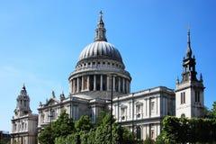 St Paul Kathedraal Royalty-vrije Stock Foto