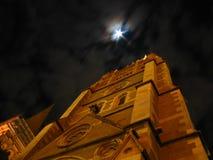 St Paul Kathedraal bij nacht   Stock Afbeeldingen