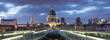 St. Paul Kathedraal, Londen. Royalty-vrije Stock Foto's