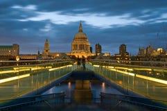 St. Paul Kathedraal, Londen. Royalty-vrije Stock Afbeeldingen