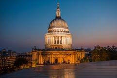St Paul Kathedraal in Londen Royalty-vrije Stock Afbeelding