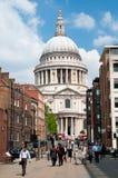 St Paul Kathedraal, Londen - Engeland Stock Foto's