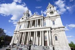 St Paul Kathedraal, Londen, het UK stock fotografie