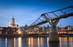 St Paul Kathedraal, Londen, het UK Royalty-vrije Stock Afbeelding