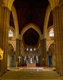 St Paul Kathedrale in Melbourne Stockbilder