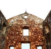 St.paul kerkruïnes Stock Afbeelding