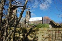 St Paul Kirche Jarrow Lizenzfreie Stockbilder