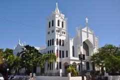 St Paul kościół episkopalny, Key West Zdjęcia Stock