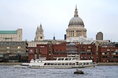 St Paul London. St. paul cathedral london royalty free stock images