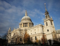 St. Paul in London England Stock Photo