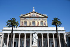 St. Paul Outside the wall Basilica -  Rome Stock Image