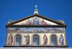 St. Paul Outside the wall Basilica -  Rome Stock Photos