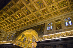St. Paul Outside the Walls - Rome Royalty Free Stock Photography