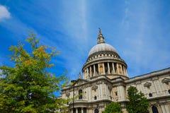 St Paul Pauls Cathedral de Londres en Angleterre Photo stock