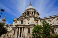 St Paul Pauls Cathedral de Londres en Angleterre Photos libres de droits