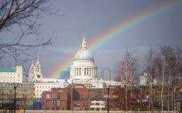 St Paul Rainbow1 fotos de stock