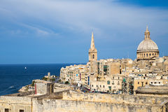 St. Paul's Anglican Cathedral, Malta Stock Photos