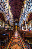St Paul's Anglican cathedral in Melbourne Stock Photo