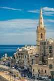 St. Paul& x27;s Anglican Cathedral in Valletta,Malta.  Royalty Free Stock Images