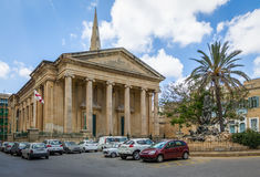St. Paul`s Anglican Pro-Cathedral - Valletta, Malta Royalty Free Stock Image