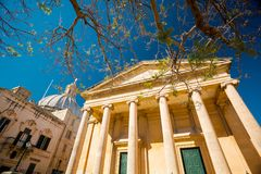 St. Paul`s Anglican Pro-Cathedral, Valletta, Malta. St. Paul`s Anglican Pro-Cathedral in Valletta, Malta Stock Images