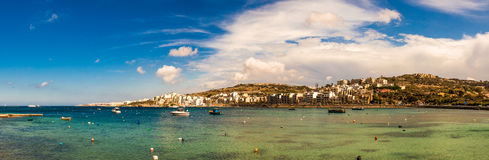 St Paul's bay, Malta Stock Photo