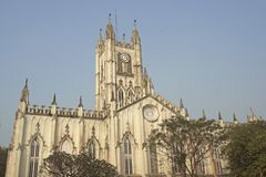 St Paul's Cathadral, Kolkata Stock Images