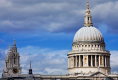 St. Paul's Cathedral. London Royalty Free Stock Photo