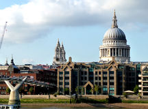 St Paul's Cathedral 7. The historic St Paul's cathedral located in central London Stock Photography