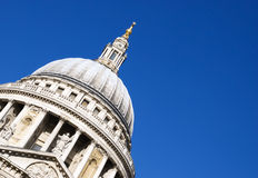 St. Paul's Cathedral. Dome, London, England royalty free stock photos